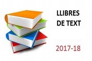 Llibres de text. Curs 2017-18