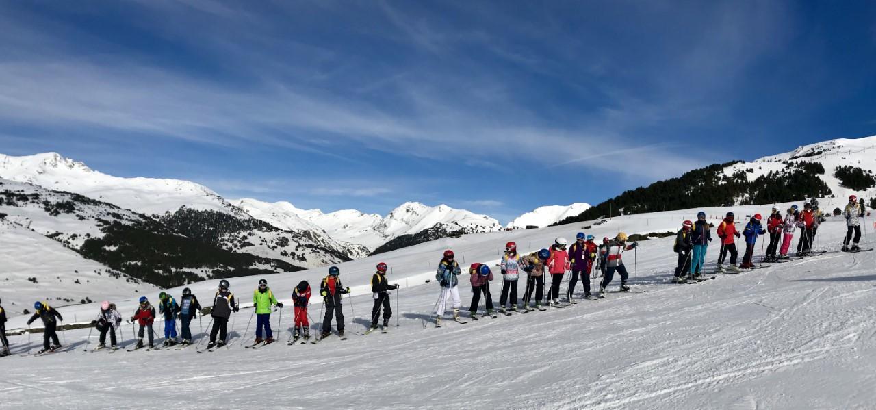 Esquiada 1er i 2n de l´ESO dia 1