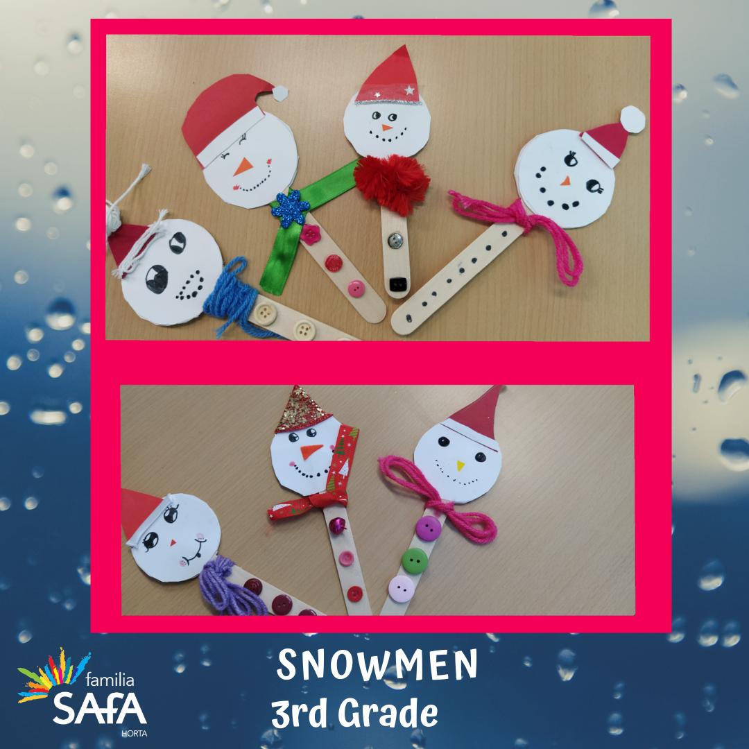 Snowmen-3rd Grade