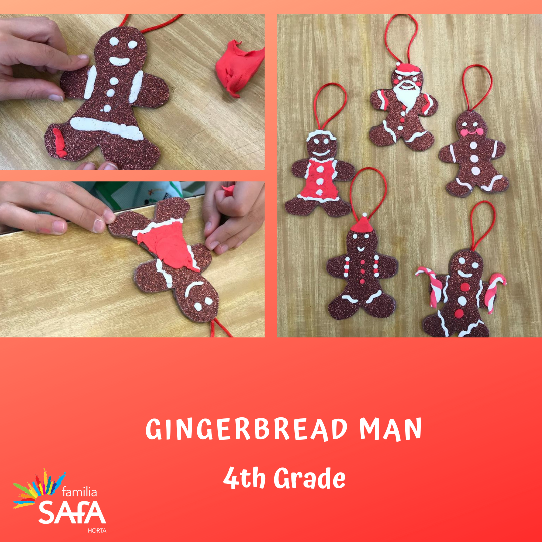 Gingerbread Man-4th Grade