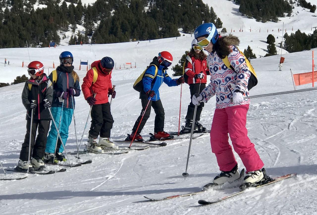 Esquiada 1er i 2n de l´ESO dia 2 (Actualització de fotos al llarg del dia)
