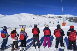 Tercer dia d'esquiada a Baqueira