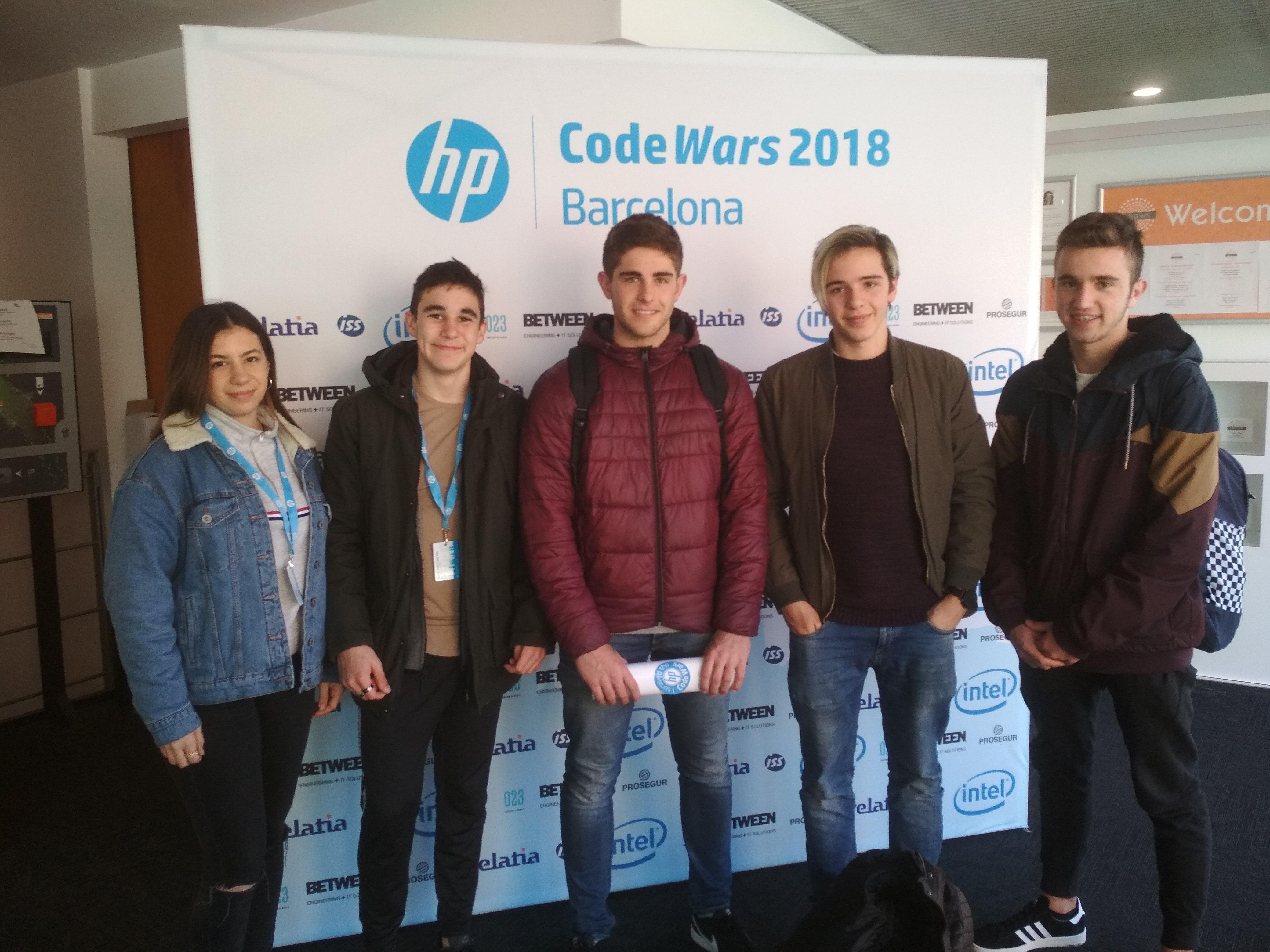 """Concurs anual de programació """"HP CODE WARS"""""""