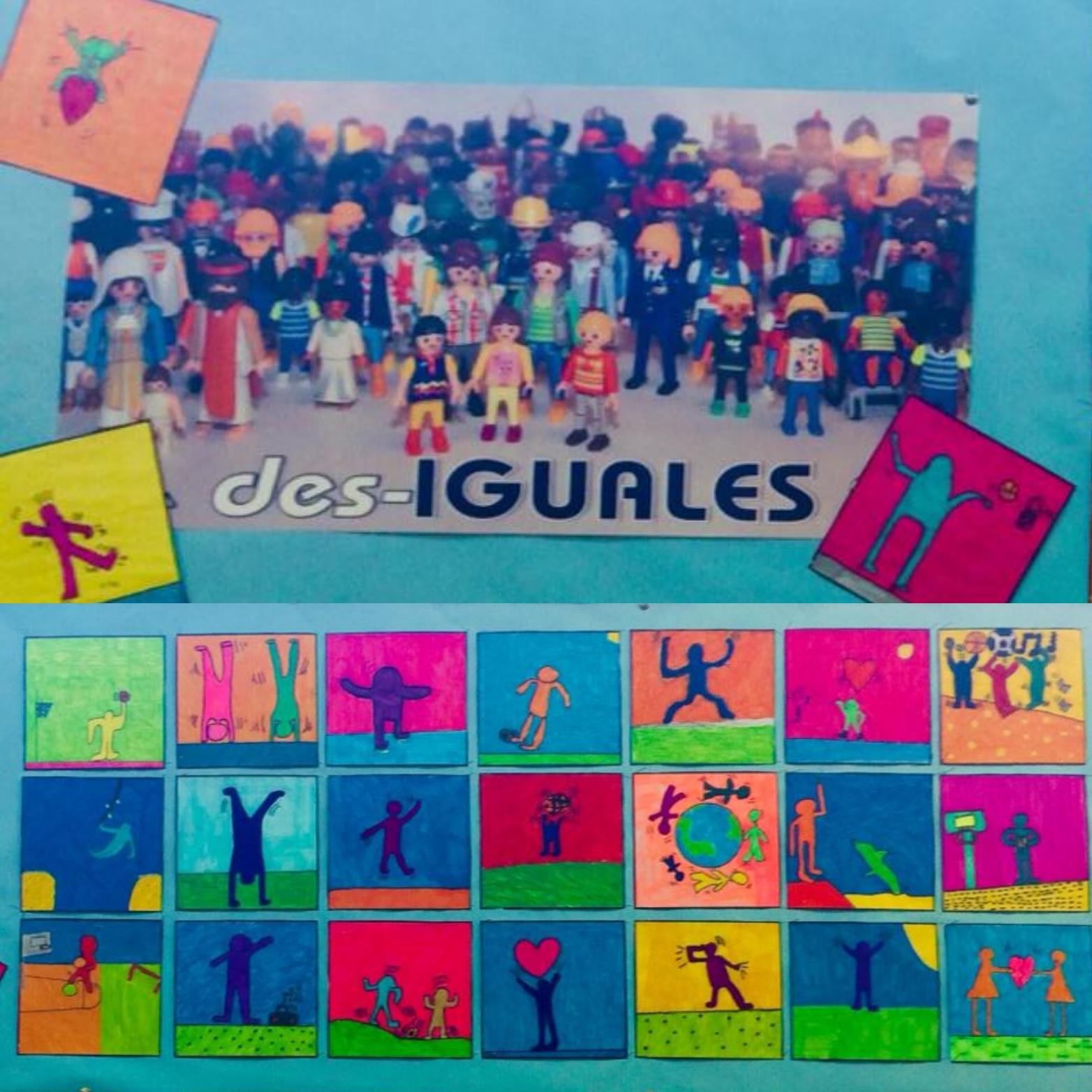¡DES-IGUALES!