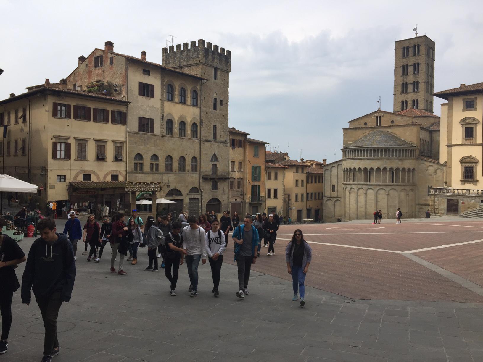 Els alumnes de 4t d'ESO visiten la Toscana