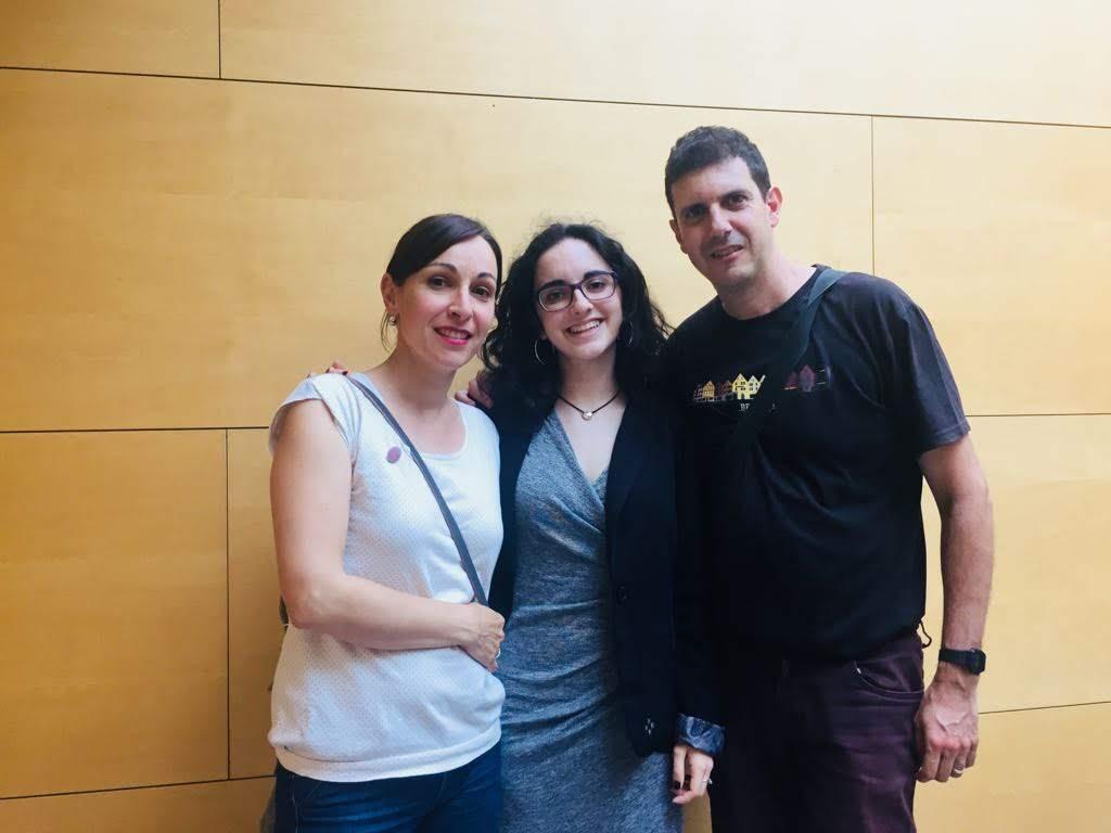 Felicitaciones a Noelia Gómez de 2º Bachillerato