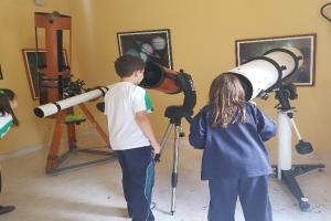 """Taller d'astronomia a """"El Pinar"""""""