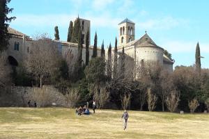 Visita a Món Sant Benet