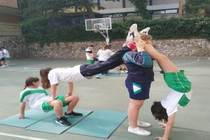 Acrosport en Educación Física