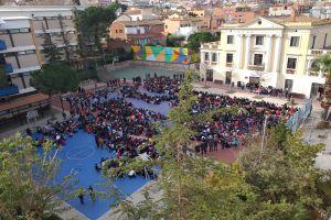Acto escolar de la paz